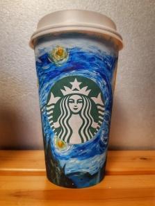 Starbucks face